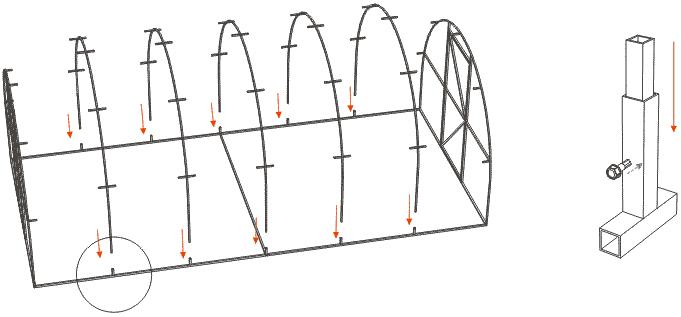 Теплица 6х3 чертежи и материалы